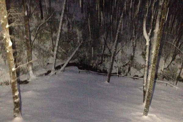 Screamer Mountain, Friday Evening, Jan. 22. Photo courtesy of Ronda Shows.