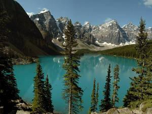 Medium moraine lake