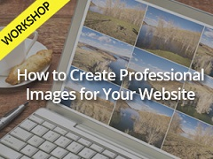 How to create professional images for your website workshop