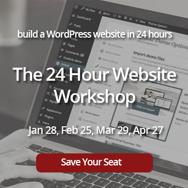 24 hour website workshop banner square