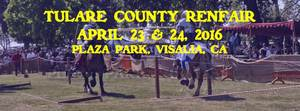 Tulare County Renaissance Faire - start Apr 23 2016 1000AM