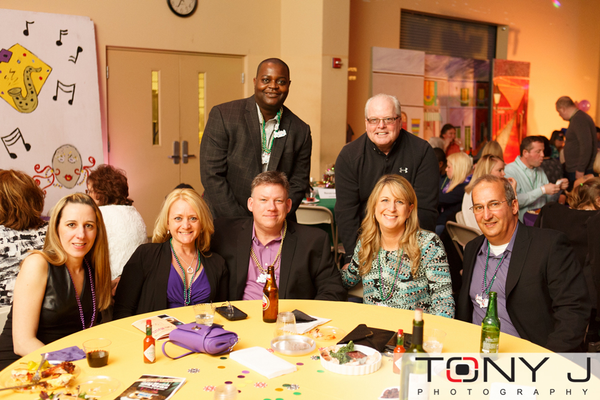 Niki Felton, Vickie Mazotas, Ted Mazotas, Charles Felton, Carmen	Gonzales, Mike Cray, and Tom Abate, all with presenting sponsor MD Live! Casino