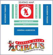 Garden Bros Circus - start Mar 13 2016 0330PM