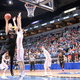 Maple Grove Senior High Crimson at the Class AAAA State Quarterfinals March 9, 2016 (Photo by Doug Erlien)