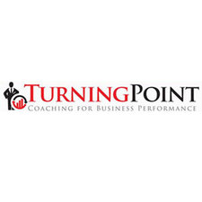 Medium turning point logo portrait web