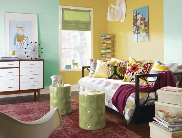 The Rooms And Paints Depicted On Following Pages Are But A Fraction Of Color Combos Curly Available Enjoy Exploring