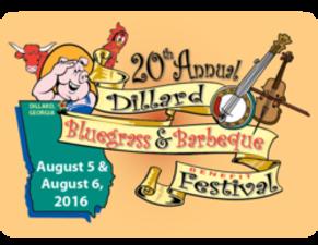 Dillard Bluegrass and BBQ festival - start Aug 05 2016 1000AM