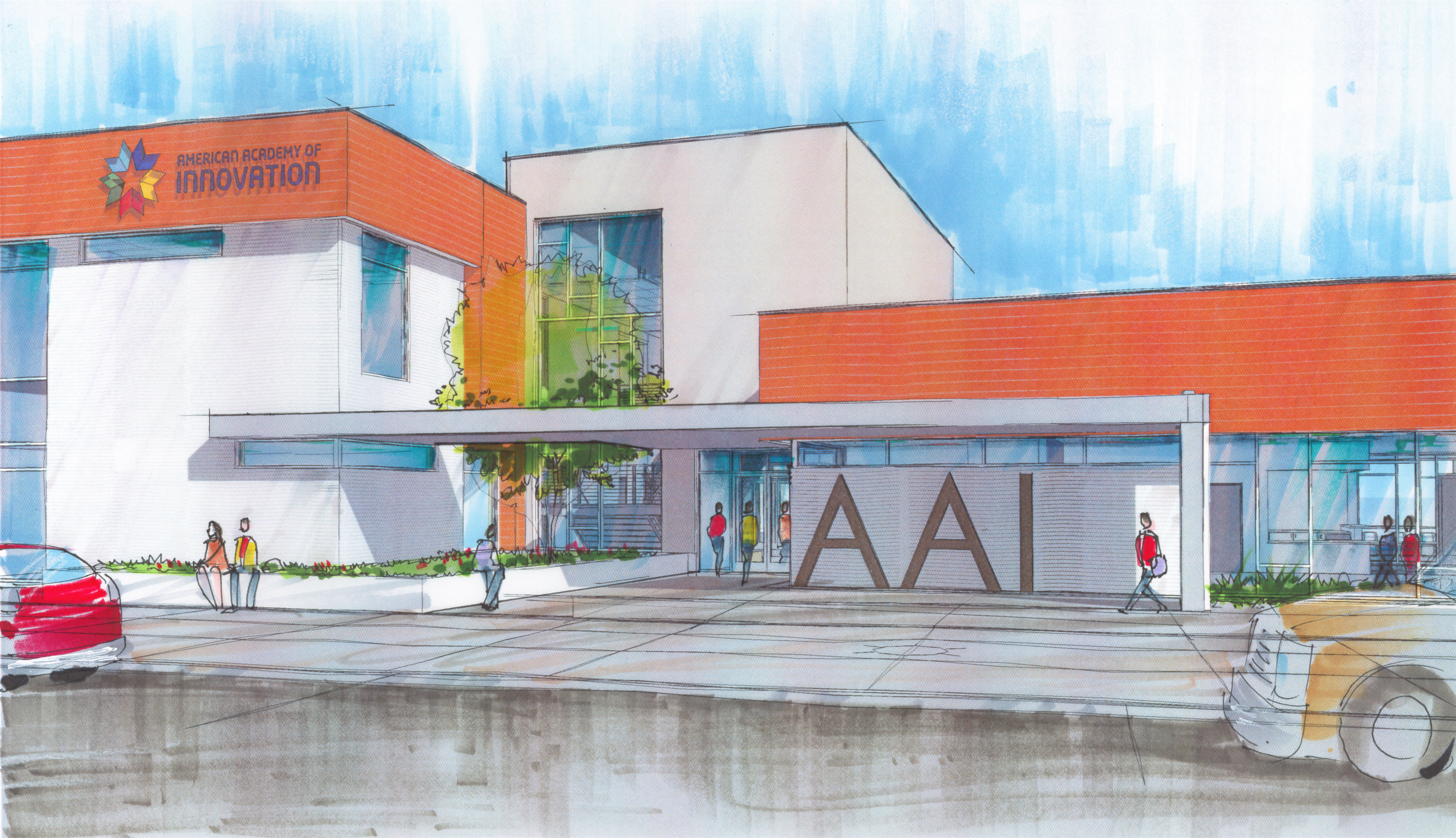 Aai 20charter 20school 20entry 20rendering