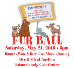 4th Annual Fur Ball - start May 21 2016 0500PM