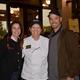 Renee Snooke, Karen Holmes and Jim Snook celebrate at the Folsom Jubilee