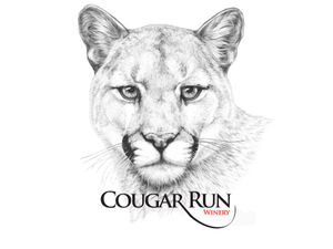 Cougar run logo sm web
