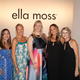 From left: Tiffany Quick, VP of Spring Events for Sandpipers; Susan Kellog, President, VF Contemporary Brands Ella Moss; Rachel Bosma, VP of Fundraising, Sandpipers; Pamella Protzel-Scott, VF Contemporary Brand Creative Director, Ella Moss; Jen Buchsbaum, President, Sandpipers