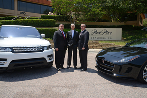 Park Place to Build Jaguar Land Rover Dealership in Grapevine - May 17 2016 0749AM
