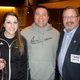 Shown L-R BHS teachers Sarah Houle and Ben Roy with Rep Kevin Kuros