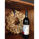 Cork wreath & wine at Cougar Run Winery.
