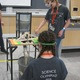 Two South Hills Middle School students participate in a Science Olympiad competition at the University of Utah – Dawn Monson