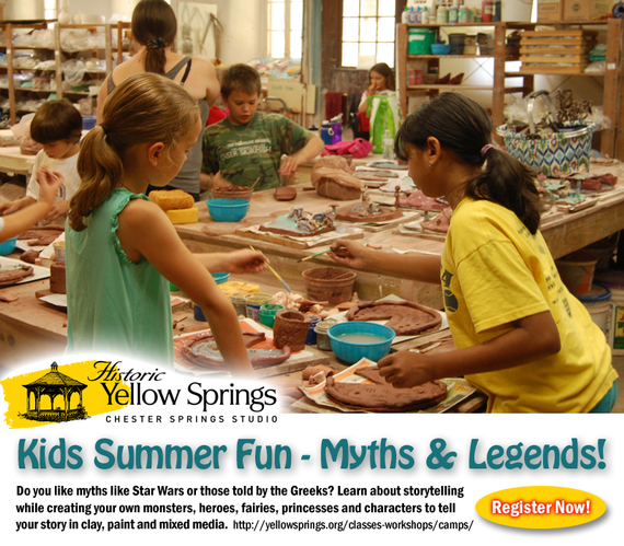 Kids summer fun myths legends