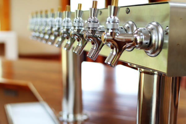 The taps at the Dew Point Brewing Company will serve visitors, whether they are stopping by for a growler-to-go, or spending time in the tasting room.