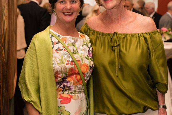 Spring Party Co-Chairs Amy Haines and Debbie Willse