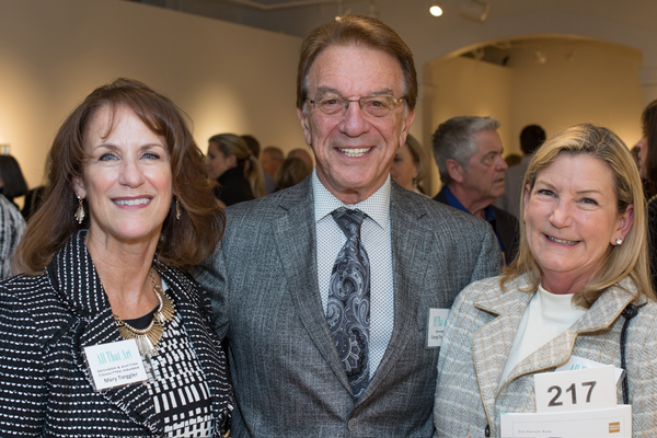 Event Committee Member and Sponsor Mary Torggler, Sponsor George Torggler, and Kathie Sulick