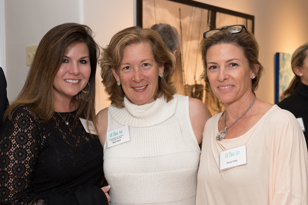 Kimberly Hillard, MHCA Board Chair and Event Sponsor Sue Ford, and Dana Cate