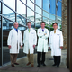 l-r Bradley Heppner MD Michael Curren MD Michael Fallert MD and Joon Sup Lee MD