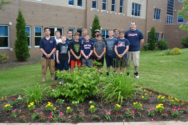 Lacrosse Team Plants Garden