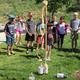 Kids watch as Mentos mix with Diet Coke with explosive results. —Rhett Ogden
