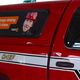 Battalion Chief's truck with ParentsEmpowered window decal parked in Sandy City Fire Station 31 on June 30, 2016. (Photo: Chris Larson, Sandy City Journal)