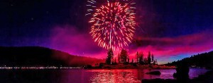 Fireworks Spectacular over Shaver Lake - start Jul 03 2016 0600PM