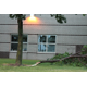 Tree damage at Basswood Elementary following July 5, 2016 storm in Maple Grove. (photo by Wendy Erlien)