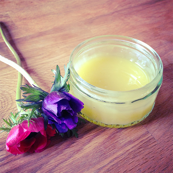 Homemade body lotion3