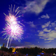 Fireworks at Sugar House Park —DAO Photography