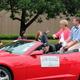 Maple Grove City Council Member Karen Jaeger at the 2016 Maple Grove Days Pierre Bottineau Parade along 89th Avenue Thursday, July 14