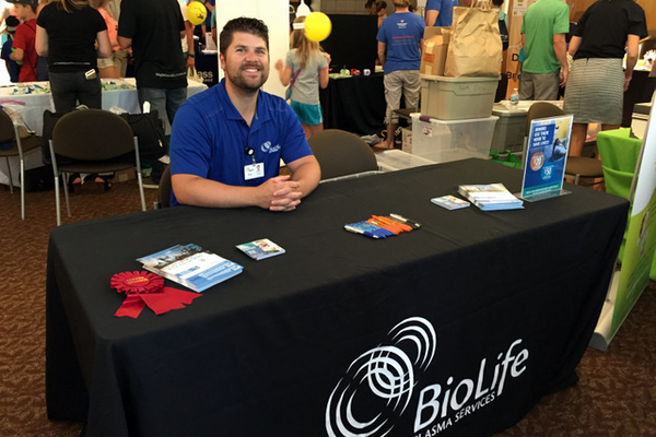 BioLife Plasma at the Maple Grove Days Business Expo 2016. (photo by Wendy Erlien)