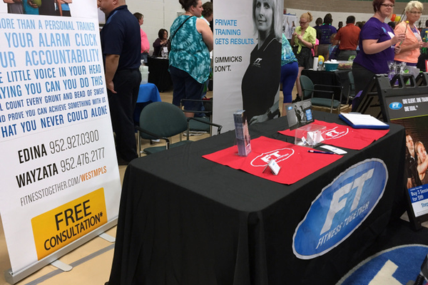 Fitness Together at the Maple Grove Days Business Expo 2016. (photo by Wendy Erlien)