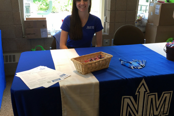 North Memorial Federal Credit Union at the Maple Grove Days Business Expo 2016. (photo by Wendy Erlien)