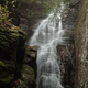 Magnificent waterfalls at the end of the trail.