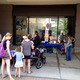Face painting was popular at Camp Arbor at the Shoppes at Arbor Lakes on July 19, 2016