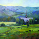 Dawna Barton is known for her landscapes. —Relics Gallery