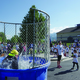 Summit Academy Principal Bob Zentner took the plunge in the dunk tank one last time on May 26. He served Summit Academy for more than eight years before he retired June 30. — Julie Slama