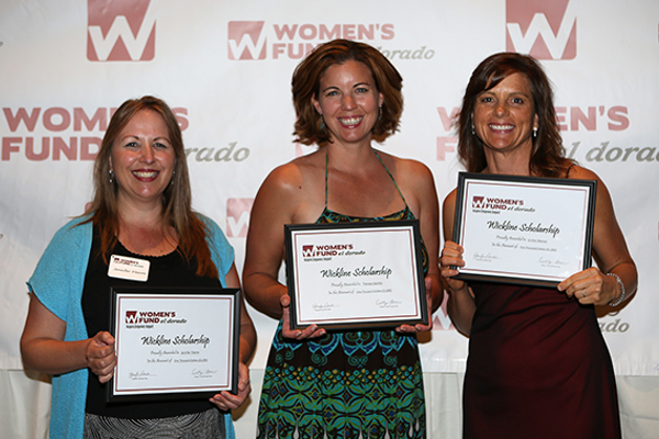 2. Wickline Scholarship recipients Jennifer Fiterre, Theresa Searles and JoAnn Warner