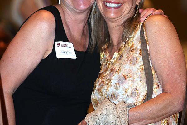 4. WFED Events Committee co-chair Mary Zaun and Claudia Draper