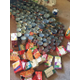 Over 200 non-perishable food items, weighing a total of 154 pounds, were collected from the 33 kids who attended the Kicks 4 Cans soccer camp. —Lindsay Christensen