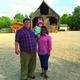 Spencer, Mali and Eva Landreth spend family time at historic Wheeler Farm. Photo by Alisha Soeken