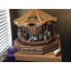 Bart and Wendy Kadleck's award-winning, handmade carousel is displayed in the front room of their Taylorsville home. The project took seven months and is the most intricate project the couple has worked on together, according to Bart.