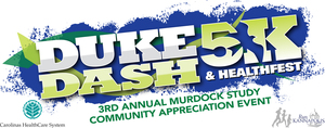 Duke Dash 5K  Healthfest - start Sep 24 2016 0900AM