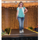 Madyson B. models clothes from the Buckle during the annual Back-to-School Fashion Preview Aug. 17, 2016 at the Maple Grove Community Center. (Photo by Wendy Erlien)