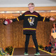 Vincent V. models clothes from Goldy's Locker during the annual Back-to-School Fashion Preview Aug. 17, 2016. (photo by Wendy Erlien)