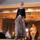 Sylvia A. models clothes from Chico's during the annual Maple Grove Fashion Flair August 18, 2016 at the Maple Grove Community Center. (Photo by Doug Erlien)